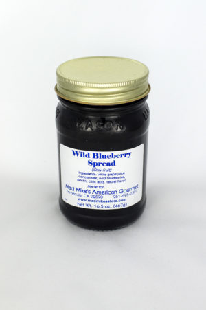 Wild Blueberry Spread