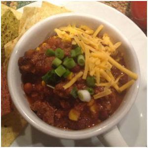 Mad Mike's Tailgate Chorizo Chili